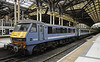 90006 Roger Ford / Modern Railways Magazine, Liverpool Street station, Sun 1 September 2013 1 - 1610.   Greater Anglia's 1400 from Norwich.