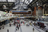 Liverpool Street station, Sun 1 September 2013 4.  The Great Eastern Rly staff war memorial is in the middle distance at right.