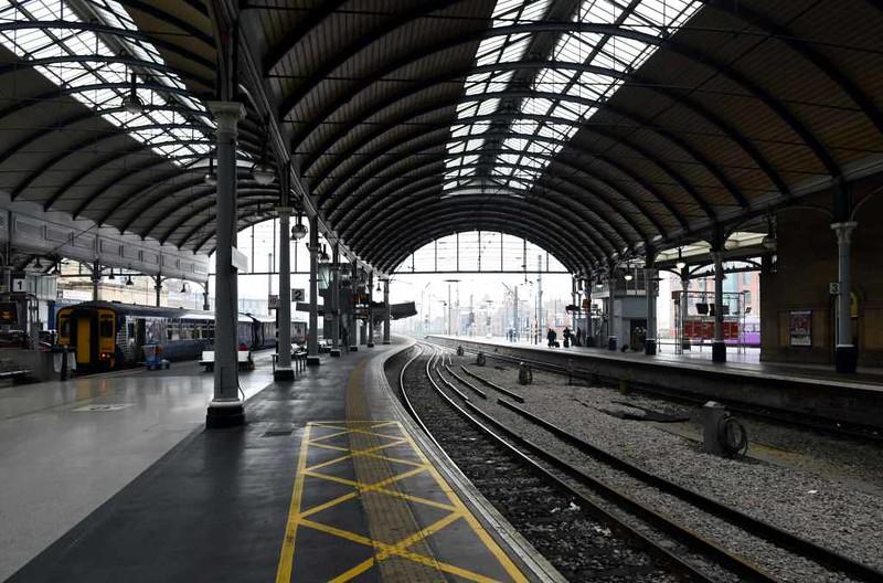 Newcastle station, Mon 25 September 2017 5.