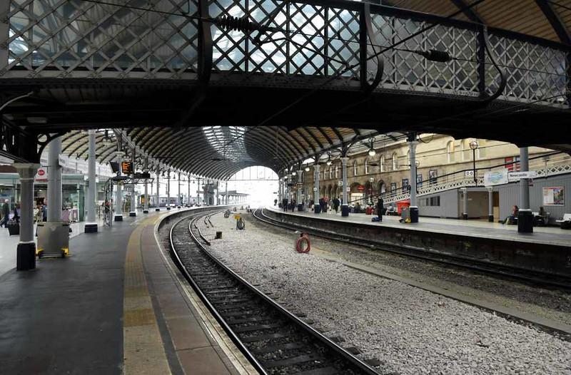 Newcastle station, Mon 25 September 2017 4.