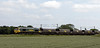 66515, 4S15, East Cowton, Wed 23 June 2010 - 1459     Freightliner's 1403 York - Killoch empty hoppers.