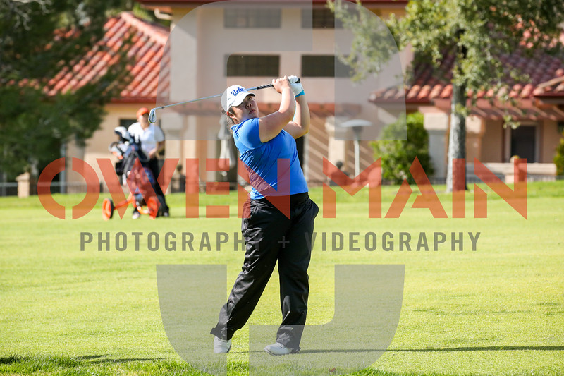 The Bruin Wave Invitational's first two rounds took place at San Luis Obispo Country Club. Photo by Owen Main 2/25/19