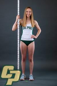 Cal Poly Athletics Spring Photos 2020 Day 2.  Photo by Owen Main 1/10/20