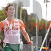 Cal Poly Track and Field hosted the 2019 Share SLO Invitational Photo by Owen Main. San Luis Obispo, CA 3/23/19