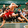 Cal Poly Wrestling hosted Stanford at Mott Athletics Center.  Photo by Owen Main 1/17/20