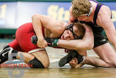 Stanford wrestled Northwestern at Mott Athletics Center. Photo by Owen Main 12/17/18