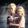 A&A Beach Day: Sibling Love
