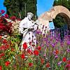 Garden at San Carlos Borromeo de Carmelo Mission