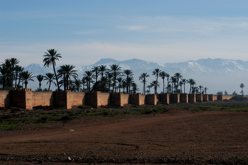 Walls of Marakech