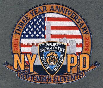 10 3RD YR ANNIVERSARY NYPD
