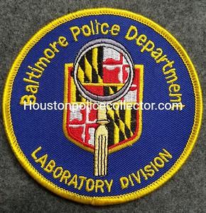 Maryland Crime Scene Units