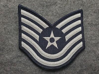 E6 Technical Sergeant dark blue