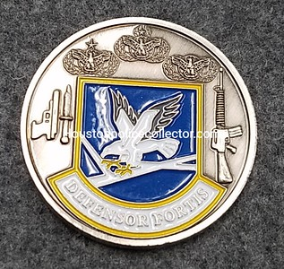 USAF Security Forces Coins
