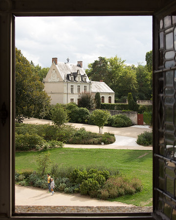 Out the Chateau Window