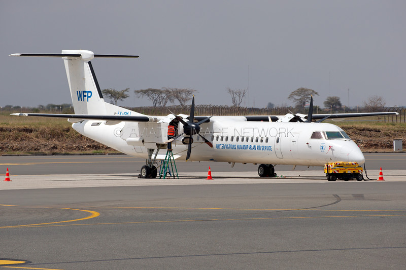 5Y-SMJ | Bombardier Dash 8-Q402 | United Nations Humanitarian Air Service