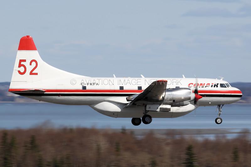 C-FKFA   Convair CV-580(AT)   Conair