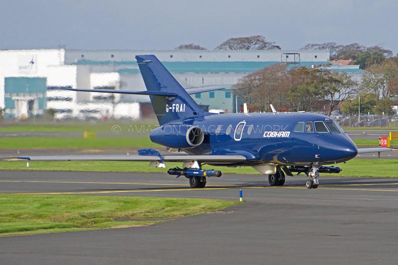 G-FRAI | Dassault Falcon 20E | Cobham Aviation Services