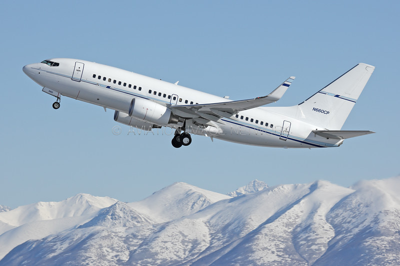 N660CP   Boeing 737-7BD   Conoco Phillips