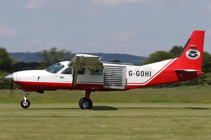 G-GOHI   Cessna 208 Caravan 1   Headcorn Parachute Club Ltd