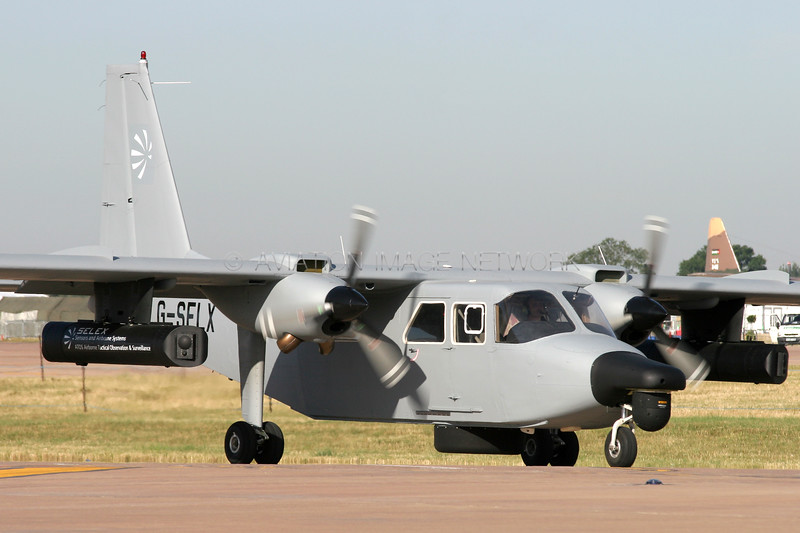G-SELX | Pilatus Britten-Norman BN-2T Islander | Gama Aviation (UK) Ltd
