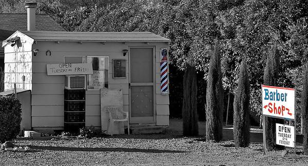 Worlds Smallest Barber Shop