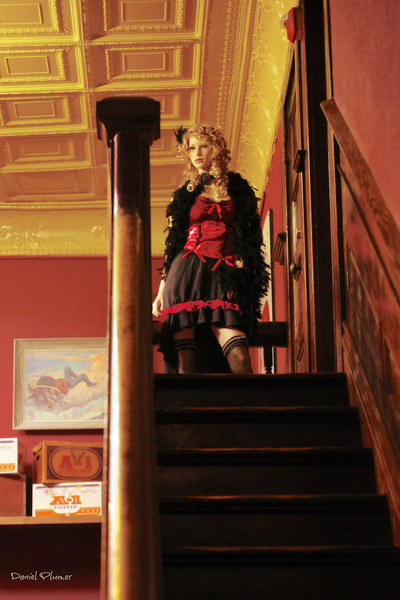 The Girl At The Top Of The Stairs