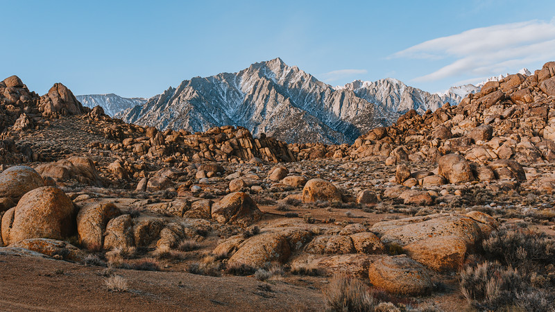 Alabama Hills Adventure photography during 4x4 van road trip.
