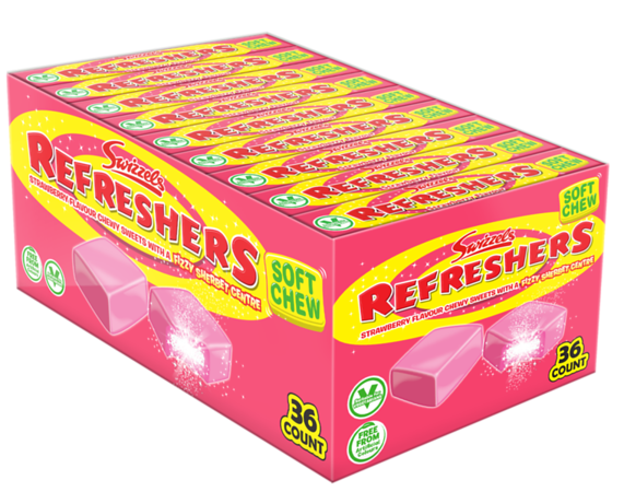76363 New Refreshers Stickpack Strawberry SRP