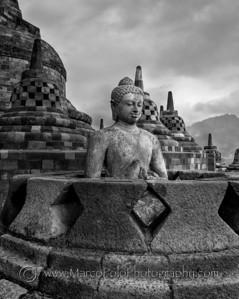 """Borobudur #2. 14""""x18"""""""