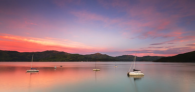 NZ 61 Akaroa Dawn