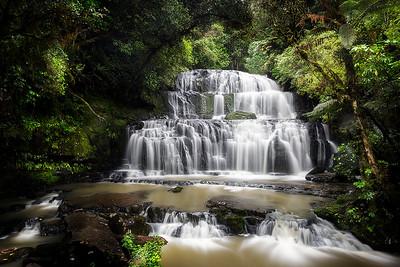 NZ 45 Purakaunui Falls