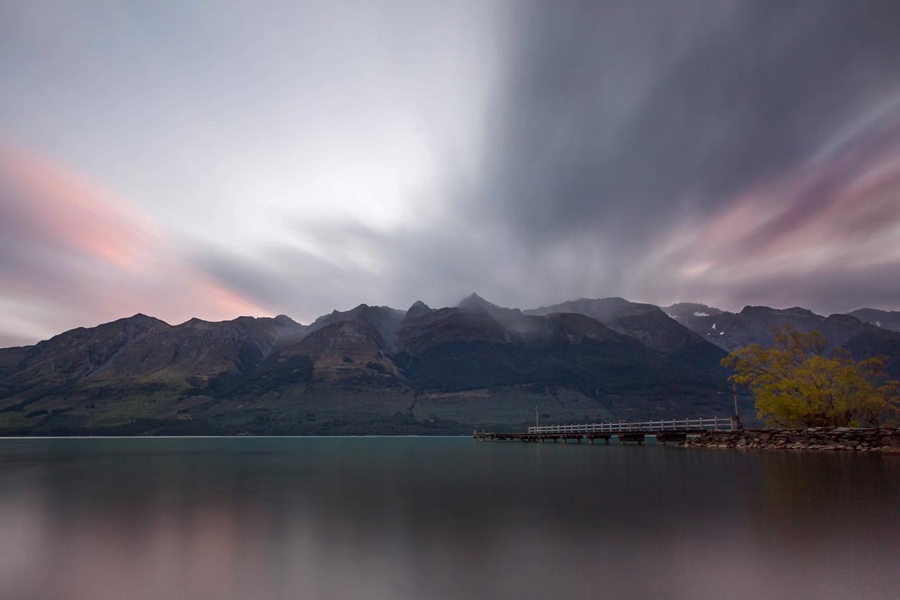 NZ 08 Glenorchy Sunset