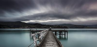 NZ 41 Duvauchelle  Wharf