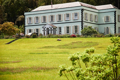 Jonathan at Plantation House - 187 years old.