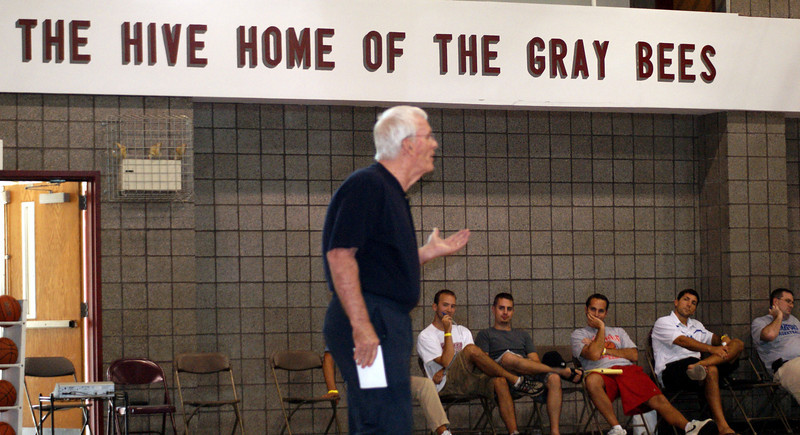 Hall of Famer Hubie Brown has been the main event of the Coaches Clinic since its inception.
