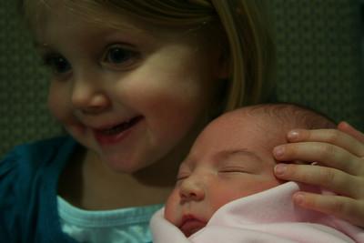 Birth of Baby Cora