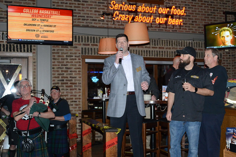 100 Club of DuPage County - Fundraiser at Rock Bottom - Warrenville, Illinois - February 20, 2017