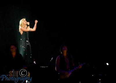 Faith's singing had such energy.