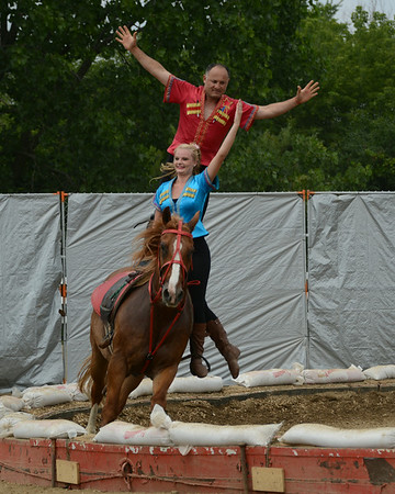 DuPage County Fair - July 23-27, 2014 - Wheaton, Illinois - Horse Performances - Live Horse Entertainment