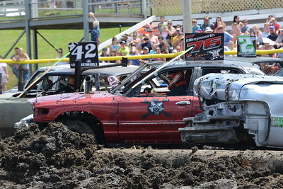 DuPage County Fair - July 27-31, 2016 - Demolition Derby