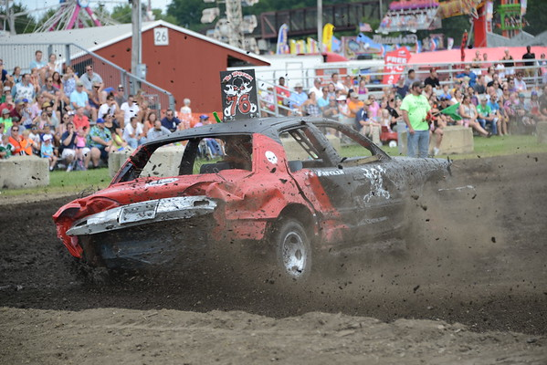 DuPage County Fair 2017 - Demolition Derby