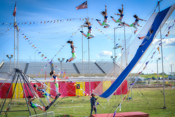 DuPage County Fair 2018 - Acrobats