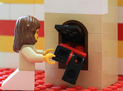 Hansel and Gretel in Lego