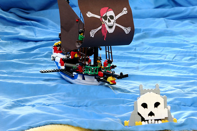The Pirates of Penzance in Lego