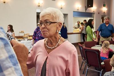 Phyllis Stephens Reception