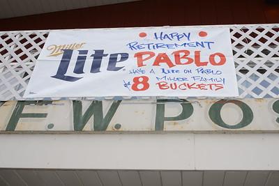 Pablo's Retirement Party - March 3, 2016