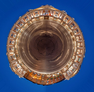 Small Toulouse Capitole Planet (Original photo CC license Benh Lieu Song)