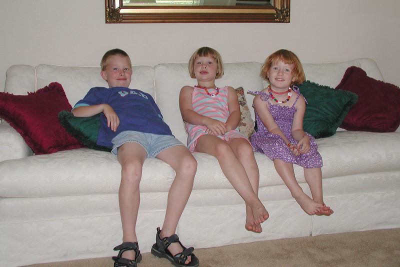 Alex, Megan, Carly