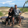 Cheri & me at Sleeping Bear Dunes, near Traverse City, MI.