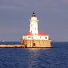 Lighthouse, Lake Michigan near Chicago